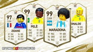 FIFA 20 ICON in Lego FIFA 20 Ultimate Team in Lego Football Film