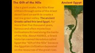 Ancient Egypt: The Gift of the Nile - reading lesson for kids