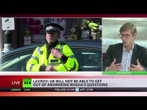 Lavrov: British colleagues have gone too far with their game