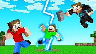 THOR vs SPEEDRUNNERS in Minecraft!