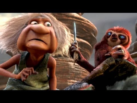 the croods movie clip 2 road trip youtube