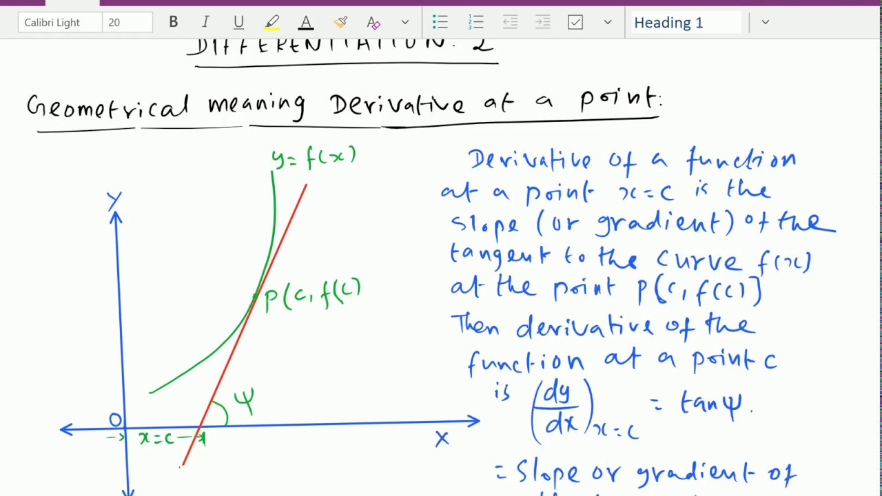 What is differentiation The meaning of the word differentiation 78