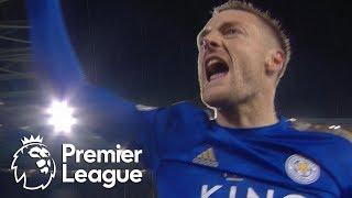 Jamie Vardy pads Leicester City's lead against Villa | Premier League | NBC Sports