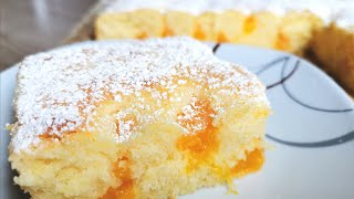 Heavenly soft buttermilk cake, only 5 minutes to prepare. Everyone will ask you for the recipe!