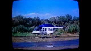 Life Flight 2, Herman Hospital, Bell 206 Long Ranger Helicopter, Cutter To Houston, 1983.