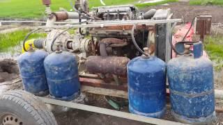 Irrigation par aspersion au Maroc  السقي بالغاز
