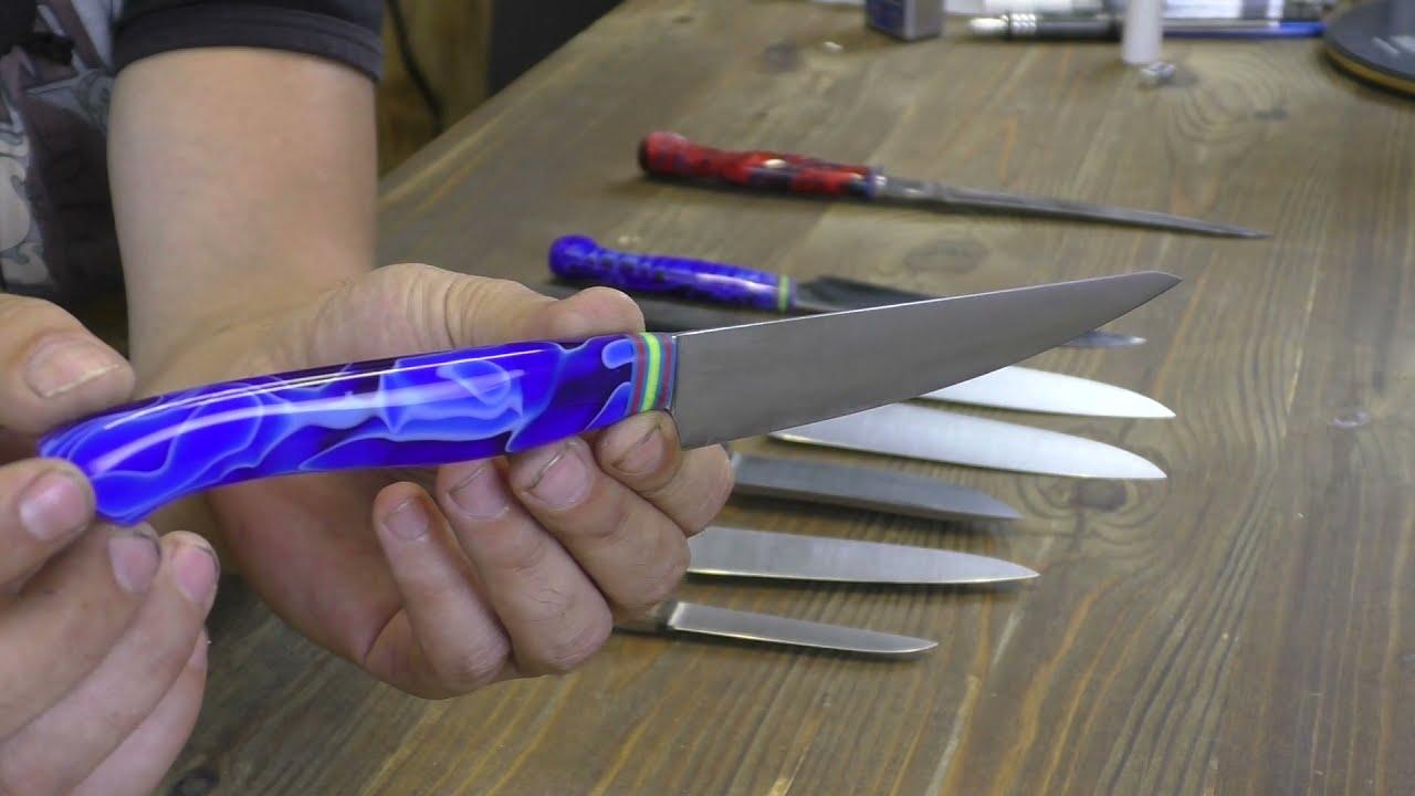 Прототипы кухонных и охотничьих ножей.
