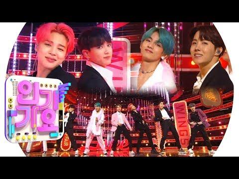 BTS방탄소년단 - Boy With Luv작은 것들을 위한 시 인기가요 Inkigayo 20190421