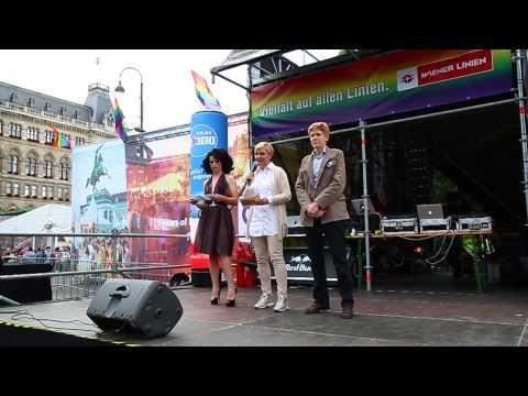 Vienna Pride Eröffnung 16. Juni 2015