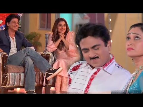 ON LOCATION FULL UNCUT: Shah Rukh Khan And Kajol Promote Dilwale On Taarak Mehta Ka Ooltah Chashmah