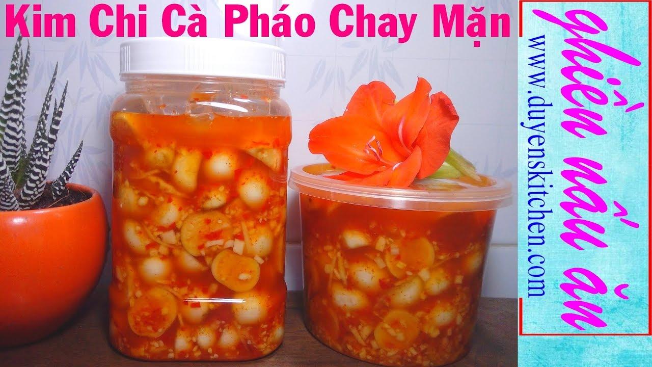 Cách Làm Kim Chi Cà Pháo Chay Mặn Đều Dùng Được By Duyen's Kitchen | Ghiền Nấu Ăn
