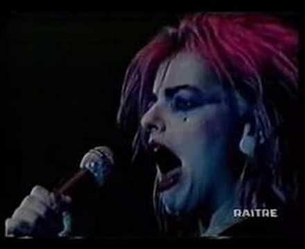 """Future is Now""--Nina Hagen"