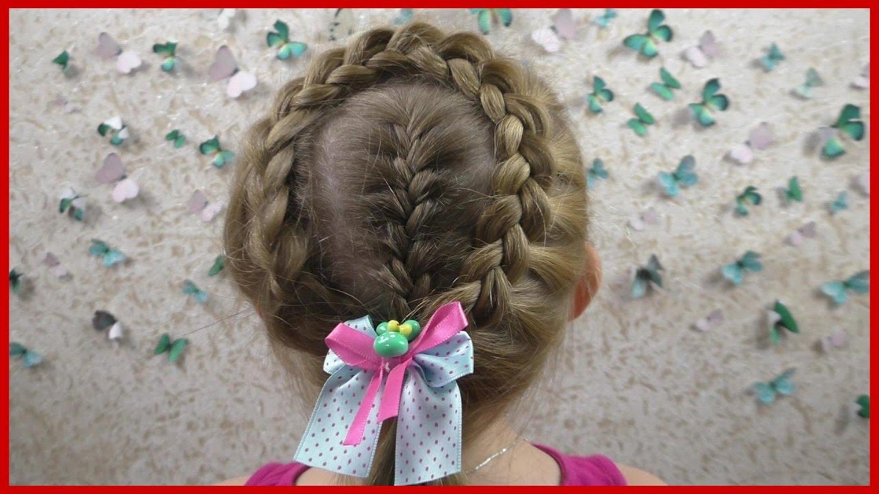 Прически для девочек.плетение кос 5