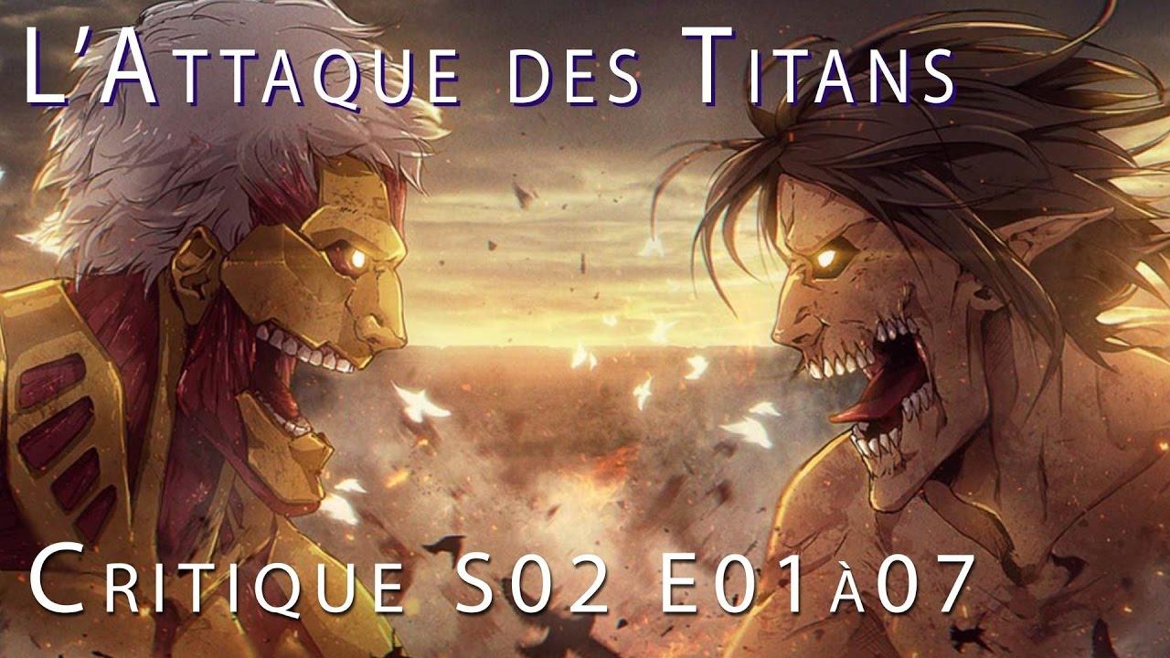 LAttaque Des Titans Saison 2 Streaming