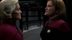 Admiral Janeways Tells Captain Janeway About the Future