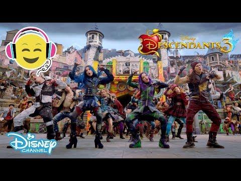Descendants 3  Musik: Good to Be Bad 🎶- Disney Channel Sverige