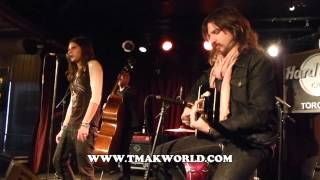 Rival Sons - Keep On Swinging, Face of Light, Jordan, Burn Down Los Angeles. Acoustic in Toronto