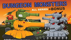 Dungeon Monsters  - all episodes plus bonus -   Cartoons about tanks