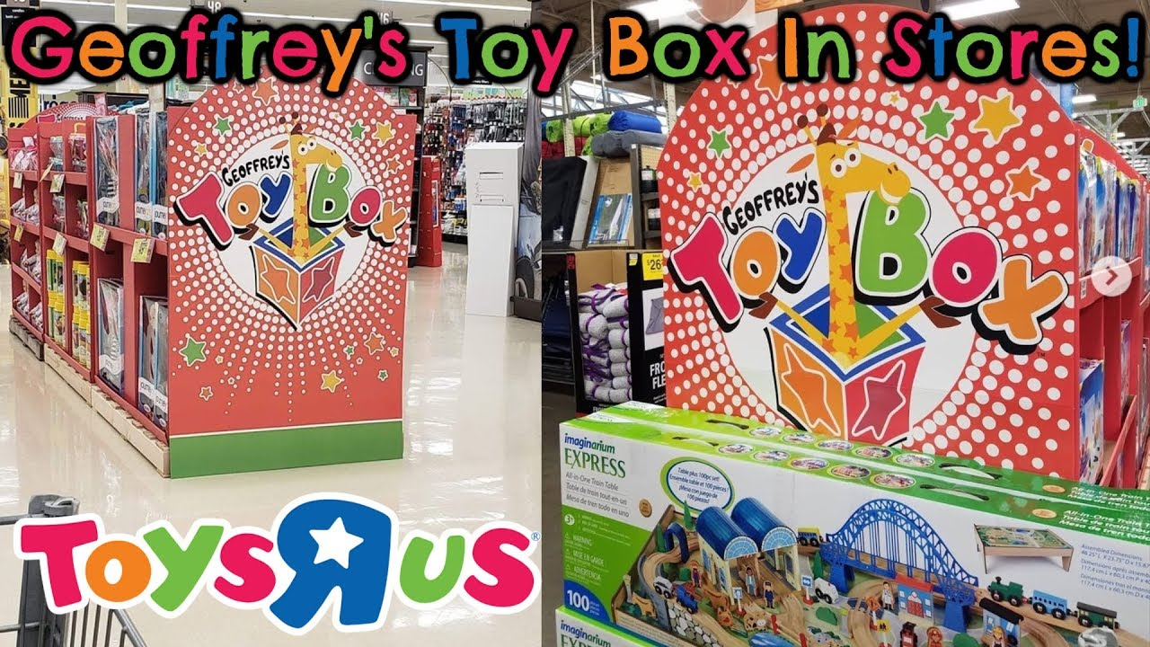 Toy Box Toys Geoffrey S Toy Box Is Already Appearing In Stores