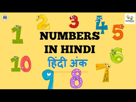 Learn Hindi  Numbers 1 to 20 with Agastya & Teacher Jo