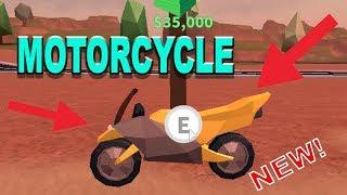 Getting motor bike for my brother(Roblox Jailbreak update )