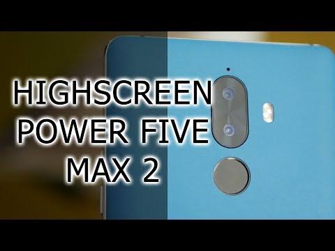 ОБЗОР | Highscreen Power Five Max 2