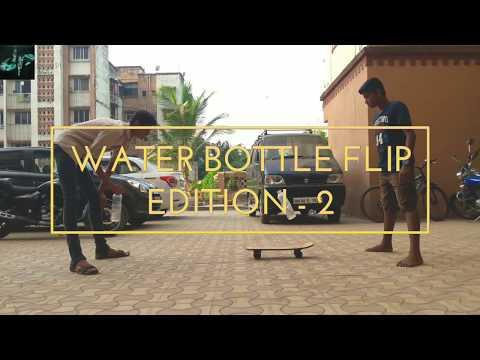 Water Bottle Flip Edition 2 | Dude Perfect Jr| 2018 |
