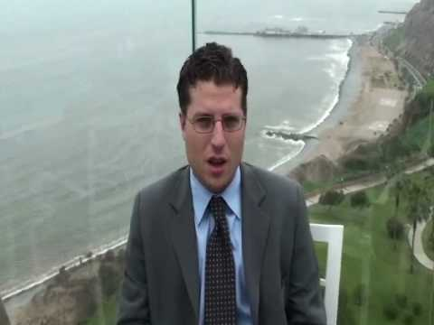 Commercial Property, eurasia group interview. Part One- Lima Peru 2009