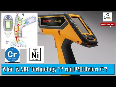 What Is XRF Technology ?? Can PMI Identify Carbon ?? ||Engineer's Academy||
