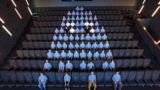 The Original Human PAC-MAN Performance by Guillaume Reymond
