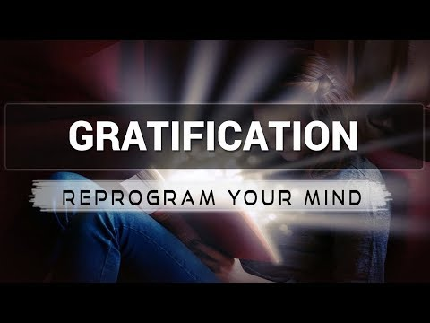Gratification affirmations mp3 music audio - Law of attraction - Hypnosis - Subliminal