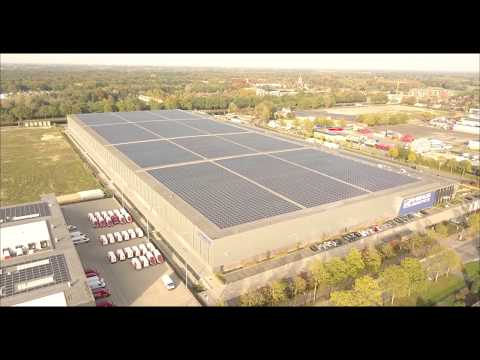 Here comes the sun - More than 15.000 solar panels in Eindhoven