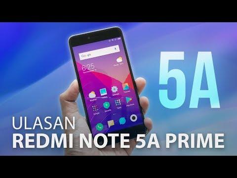 Ulasan: Xiaomi Redmi Note 5A Prime