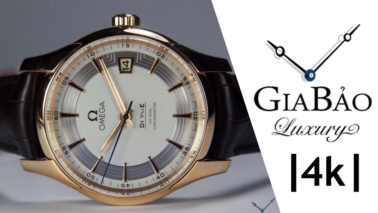 Review đồng hồ Omega De Ville Hour Vision Co-Axial 41mm
