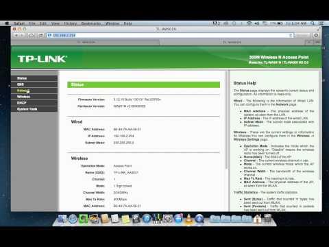 Configurando modo Access Point ( WDS ) TP-Link TL-WA901N e Roteador TP-Link TL-WR841N