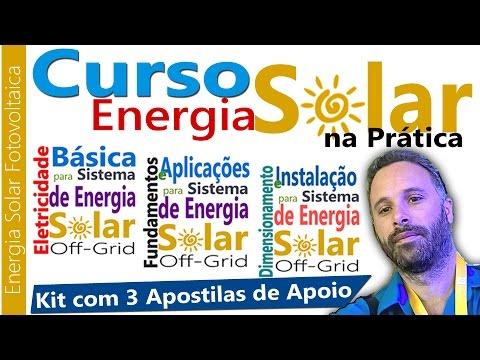 APOSTILAS DE APOIO DO CURSO ENERGIA SOLAR NA PRÁTICA