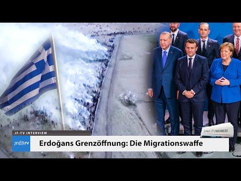 Die Migrationswaffe (JF-TV Interview mit Hinrich Rohbohm)