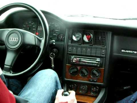 1990 Audi 90 quattro turbo - YouTube