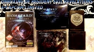Unboxing de Resident Evil Revelations E-Capcom Limited Edition