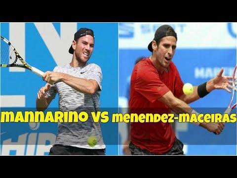Adrian Mannarino vs Adrian Menendez-Maceiras | QF New York 2018 Highlights