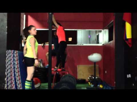 Patricia Isaac WOD 15.2 Open Fittest Vzla 2015