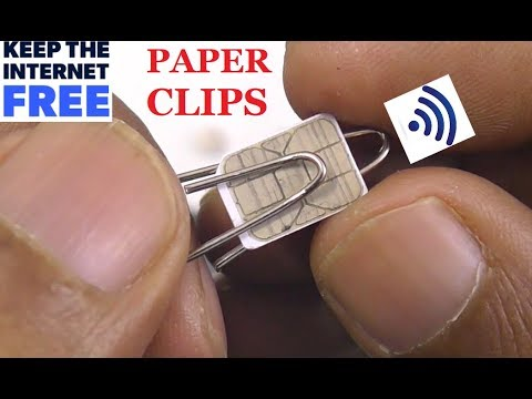 NEW PAPERCLIPS FREE INTERNET DATA AT HOME 2020
