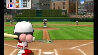 Knights at Showoffs - Exhibition Game (MLB Power Pros 2008)