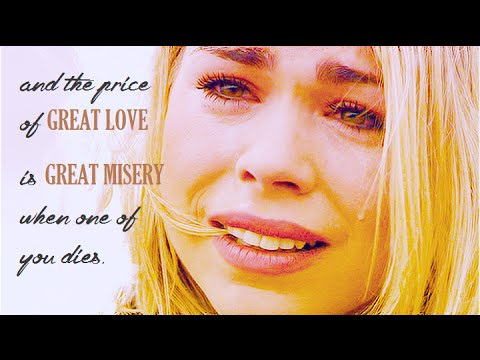 the price of great love is great misery. {TPLC}