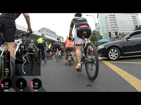 National Fitness Leisure Ride in Chengdu
