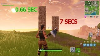 BUILDING WITH 100000 DPI(Fastest building) - FORTNITE MOMENTS #2
