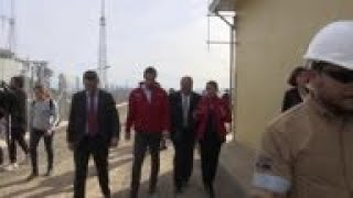 Chinese climate change official visits Chile
