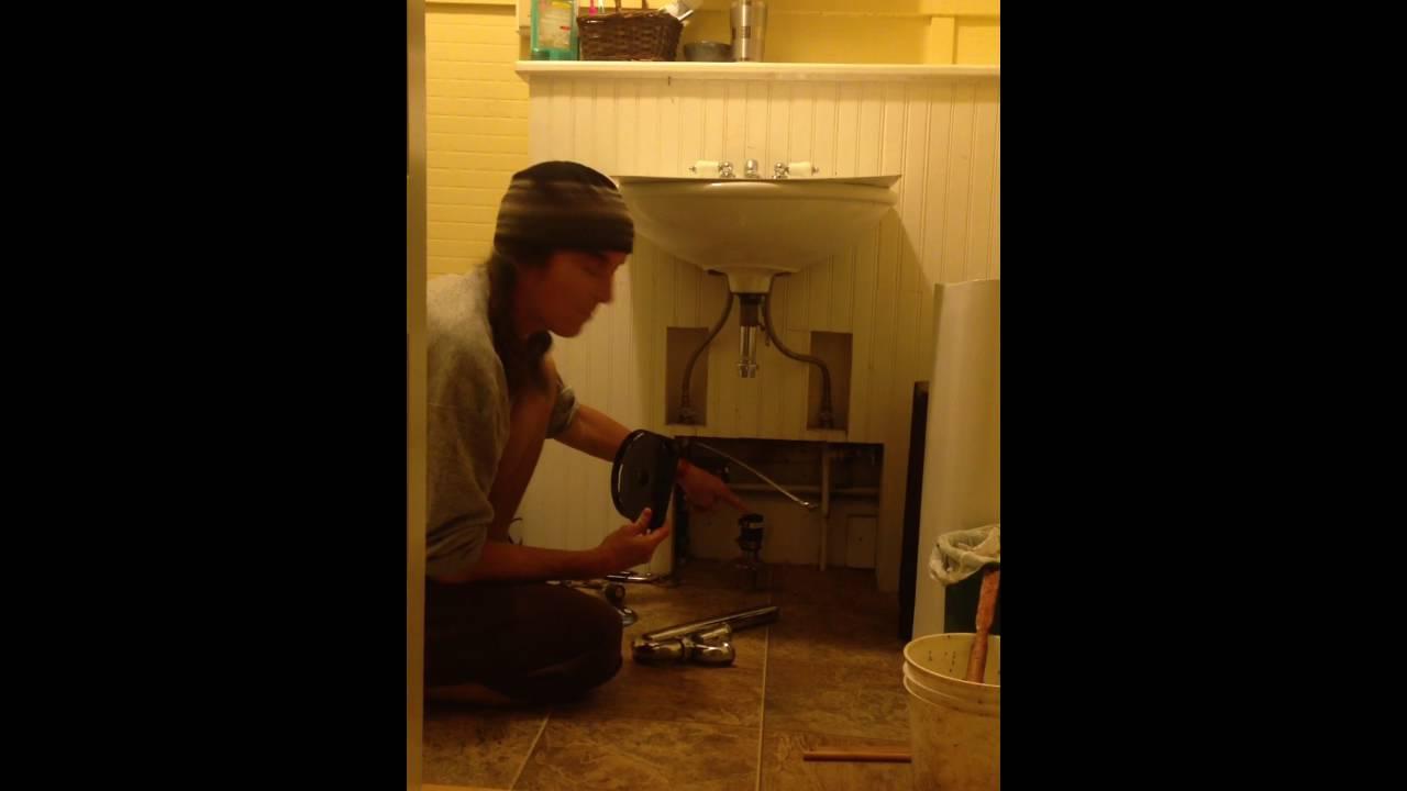Fix Snake Stuck In Sink Drain