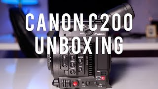 CANON C200 Unboxing - GOT A NEW CAMERA!