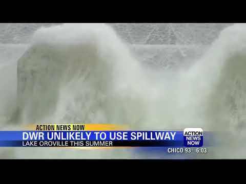 DWR says it does not plan to use spillway at Lake Oroville this season